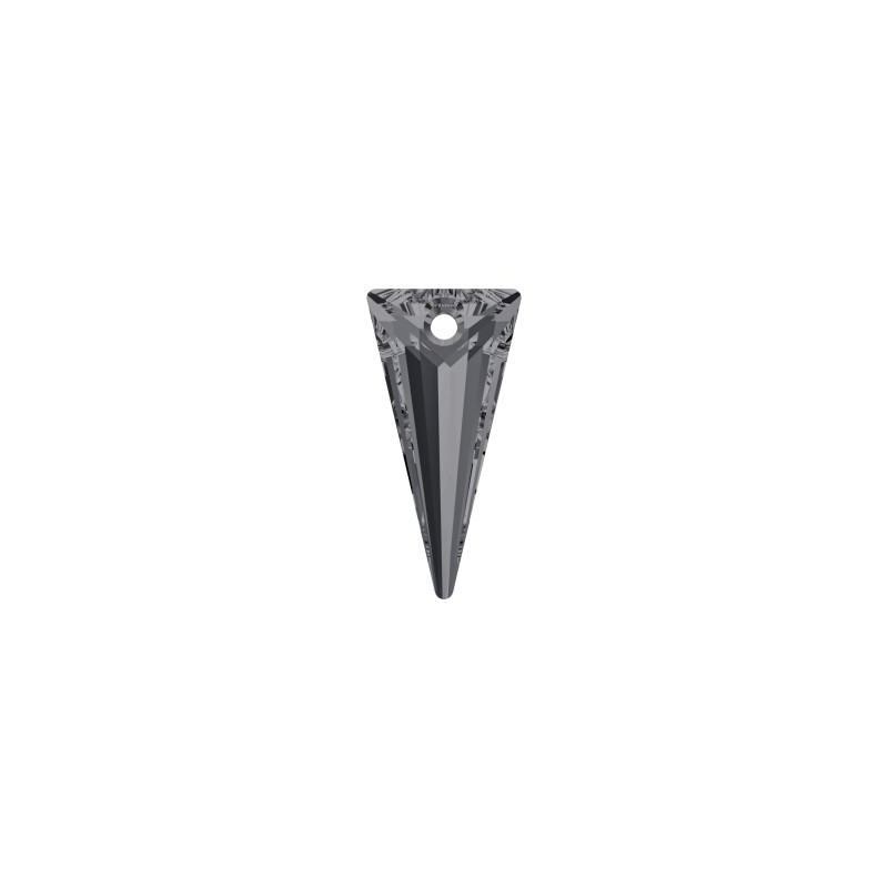 28MM Crystal Silver Night (001 SINI) Spike Pendants 6480 SWAROVSKI ELEMENTS