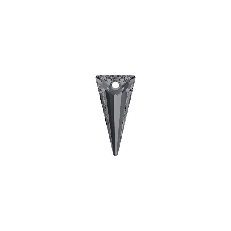 18MM Crystal Silver Night (001 SINI) Spike Pendants 6480 SWAROVSKI ELEMENTS