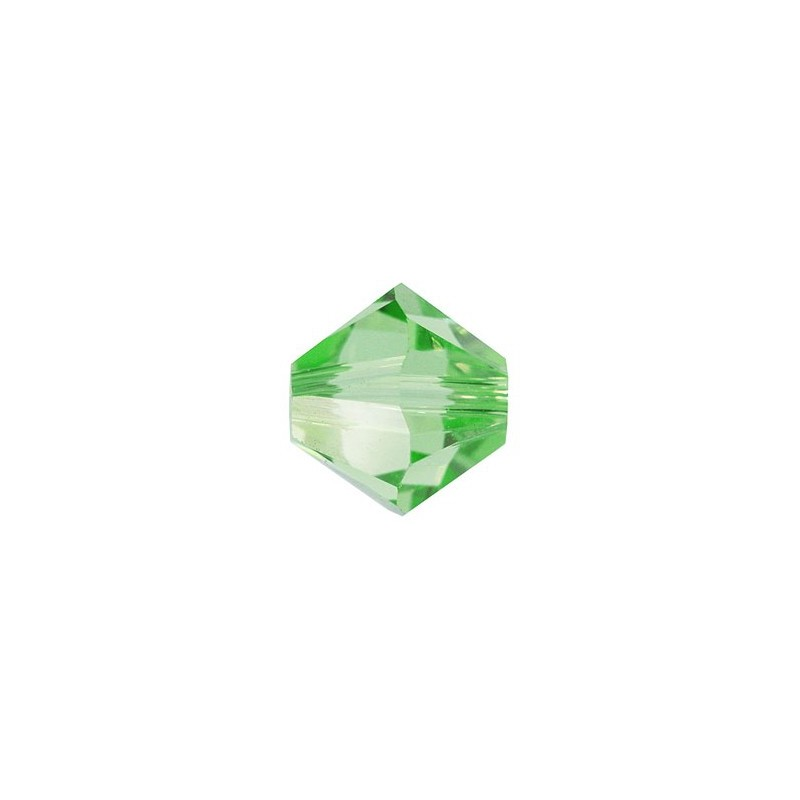 3MM Peridot (214) 5328 XILION Bi-Cone Beads SWAROVSKI ELEMENTS