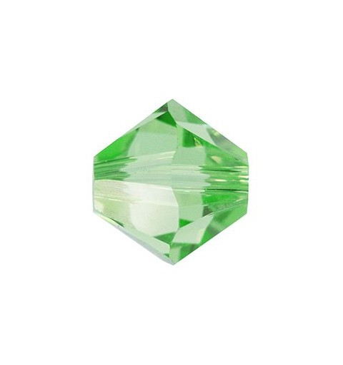 4MM Peridot (214) 5328 XILION Bi-Cone Beads SWAROVSKI ELEMENTS