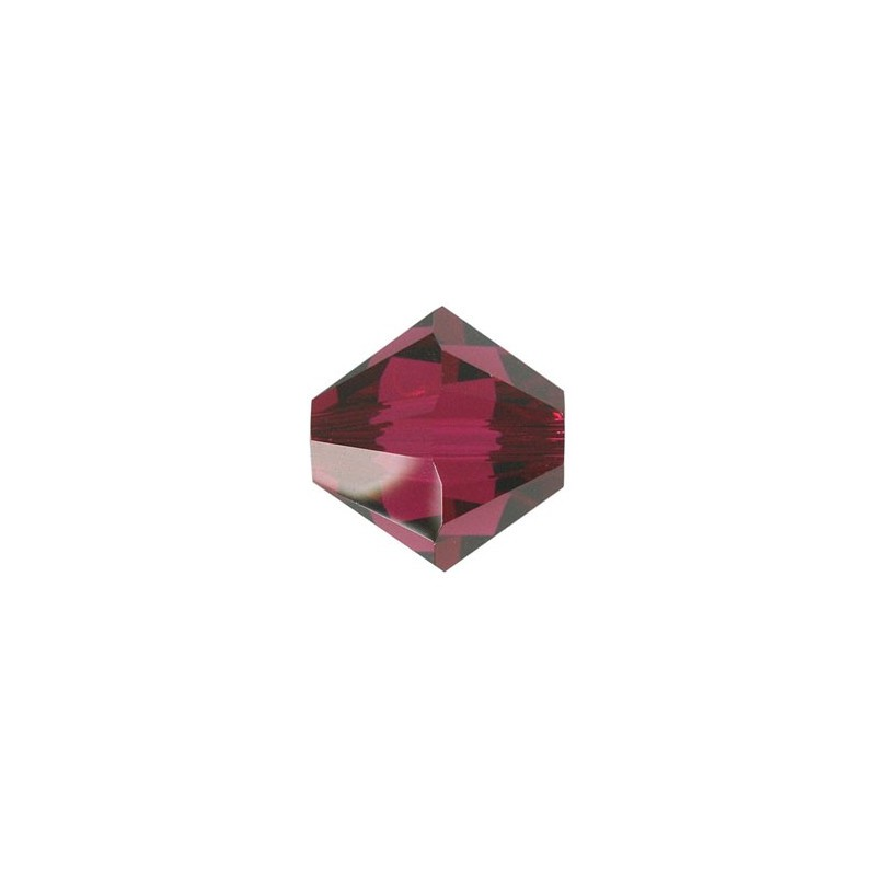 3MM Ruby (501) 5328 XILION Bi-Cone Beads SWAROVSKI ELEMENTS