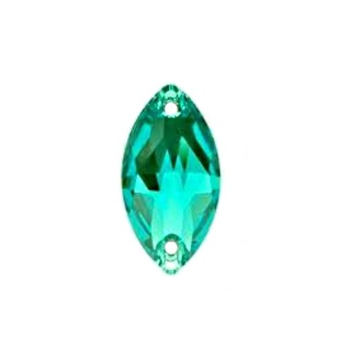 18x9MM Blue Zircon F (229) 3223 Navette SWAROVSKI ELEMENTS