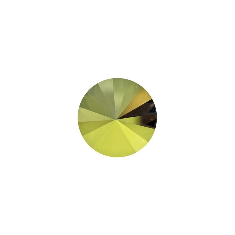 18MM Crystal Iridescent Green F (001 IRIG) 1122 Rivoli Chaton SWAROVSKI ELEMENTS