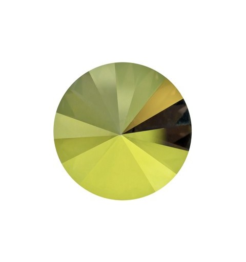 SS39 (~8.25mm) Crystal Iridescent Green F (001 IRIG) 1122 Rivoli Chaton SWAROVSKI ELEMENTS