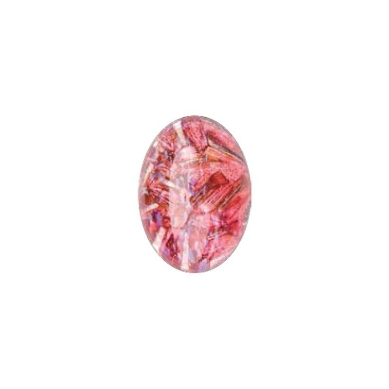 25x18mm Опал Розовый 03000 с Фольгой 416-12-564 Кабошон Прециоса