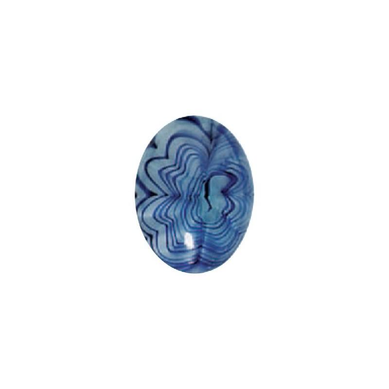 25x18mm Agate-Cobweb 04045 Кабошон 416-12-020 Прециоса