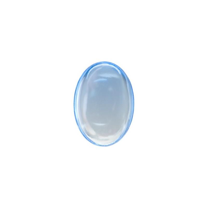 25x18mm Light Sapphire 30020 Cabochons 417-12-020 Preciosa
