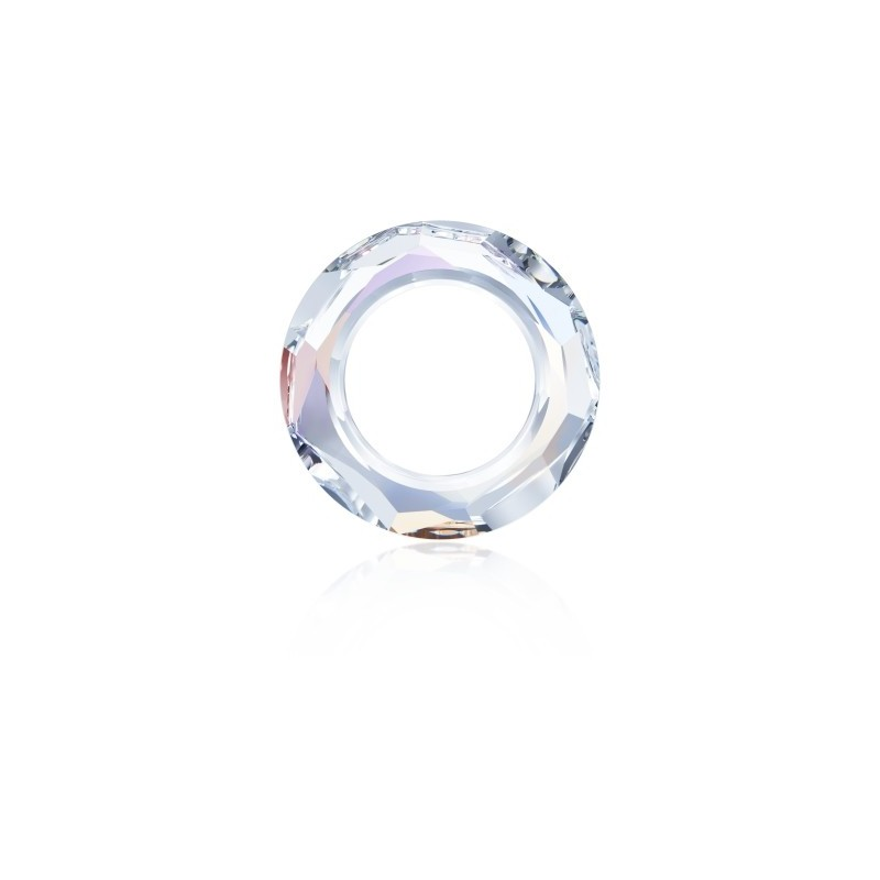 14mm Crystal AB (001 AB) Cosmic Ring Fancy Stone 4139 Swarovski Elements