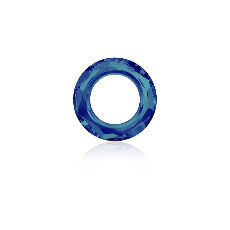 14mm Crystal Bermuda Blue (001 BB) Cosmic Ring Ehete Kristall 4139 Swarovski Elements