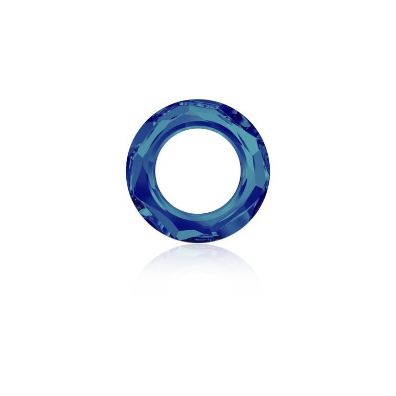 14mm Crystal Bermuda Blue (001 BB) Cosmic Ring Fancy Stone 4139 Swarovski Elements
