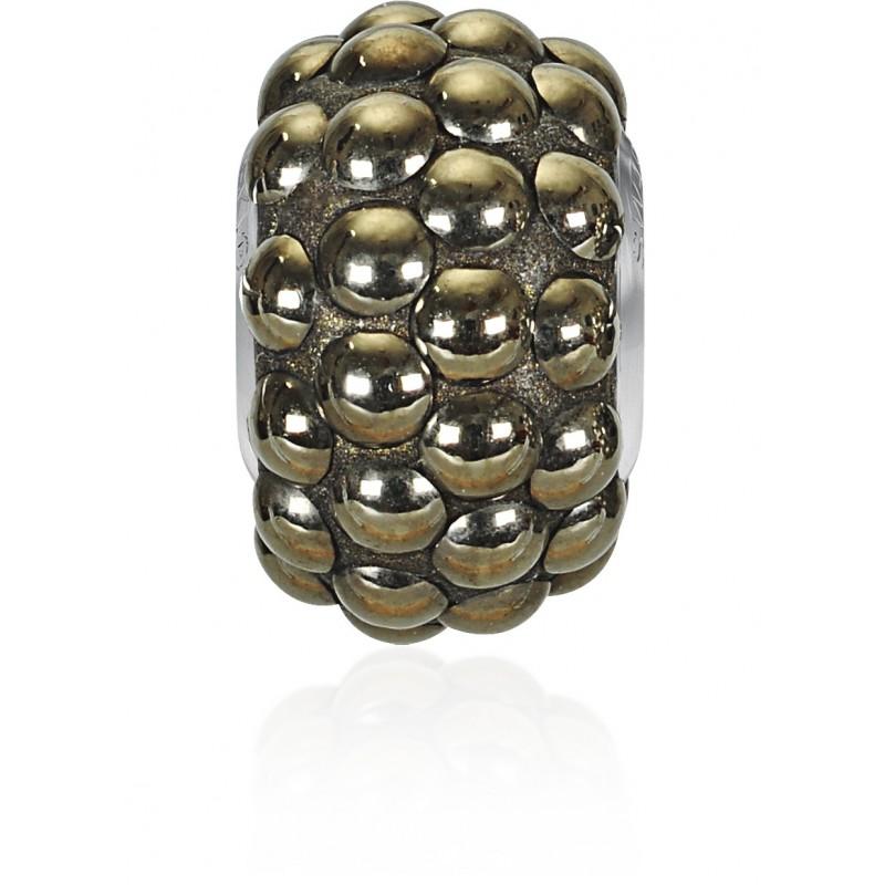 15.5mm Crystal Metallic Light Gold (001 MLGLD) 80501 BeCharmed Pavé Cabochon Bead Swarovski Elements