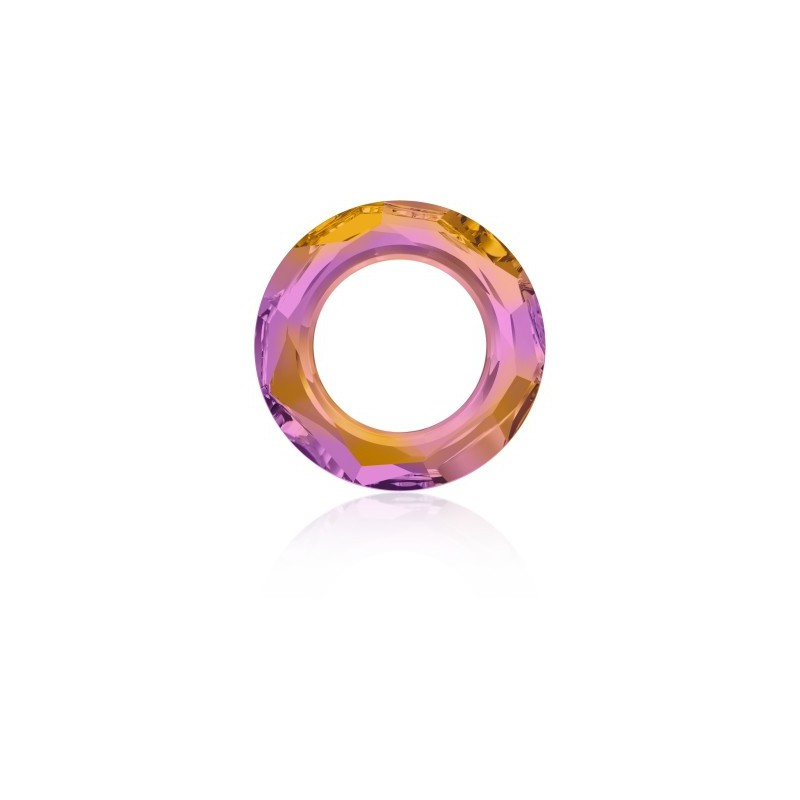 14mm Crystal Astral Pink (001 API) Cosmic Ring Fancy Stone 4139 Swarovski Elements