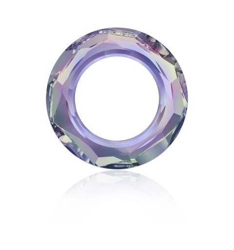 20mm Crystal Vitrail Light (001 VL) Cosmic Ring Fancy Stone 4139 Swarovski Elements