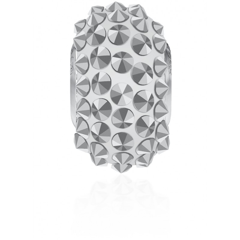 16mm Crystal Comet Argent Light V (001 CALV) 80401 BeCharmed Pavé Spikes Bead Swarovski Elements