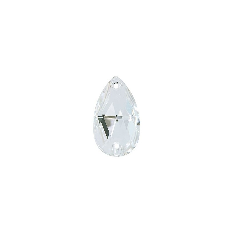 28X17MM Crystal F (001) 3230 Drop SWAROVSKI ELEMENTS