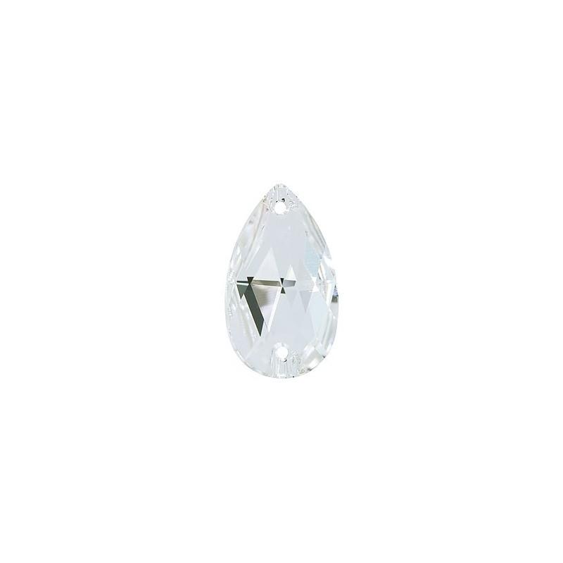 28X17MM Crystal F (001) 3230 Drop SWAROVSKI ELEMENTS