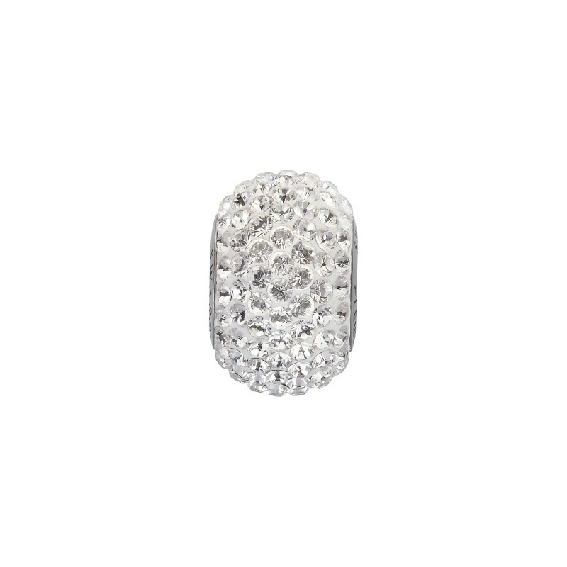 14mm Crystal (001) 80101 BeCharmed Pavé Bead Swarovski Elements