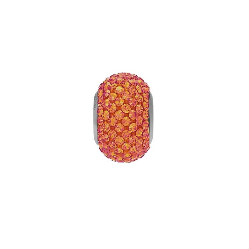 14mm Crystal Astral Pink (001 API) 80101 BeCharmed Pavé Bead Swarovski Elements