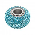 14mm Aquamarine (202) 80101 BeCharmed Pavé Bead Swarovski Elements