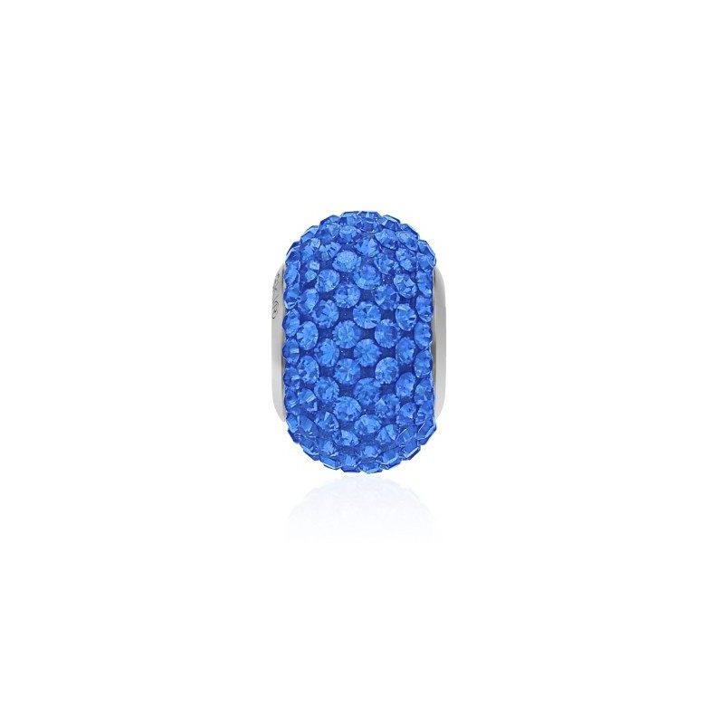 14mm Sapphire (206) 80101 BeCharmed Pavé Helmed Swarovski Elements