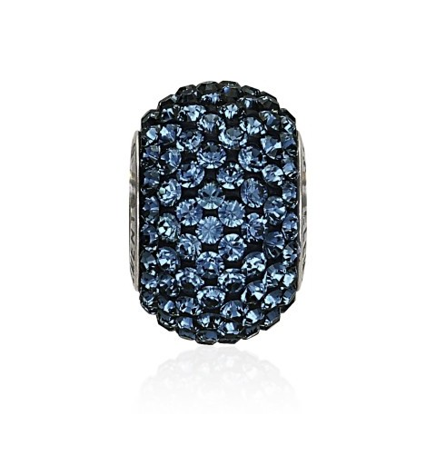 14mm Montana (207) 80101 BeCharmed Pavé Bead Swarovski Elements