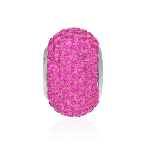 14mm Rose (209) 80101 BeCharmed Pavé Bead Swarovski Elements
