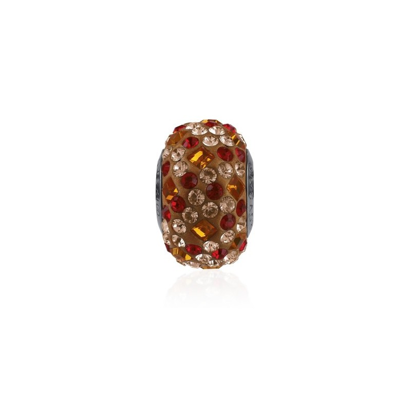 14mm Tangerine (259) 81403 Crystal BeCharmed Pavé Medley Helmed Swarovski Elements