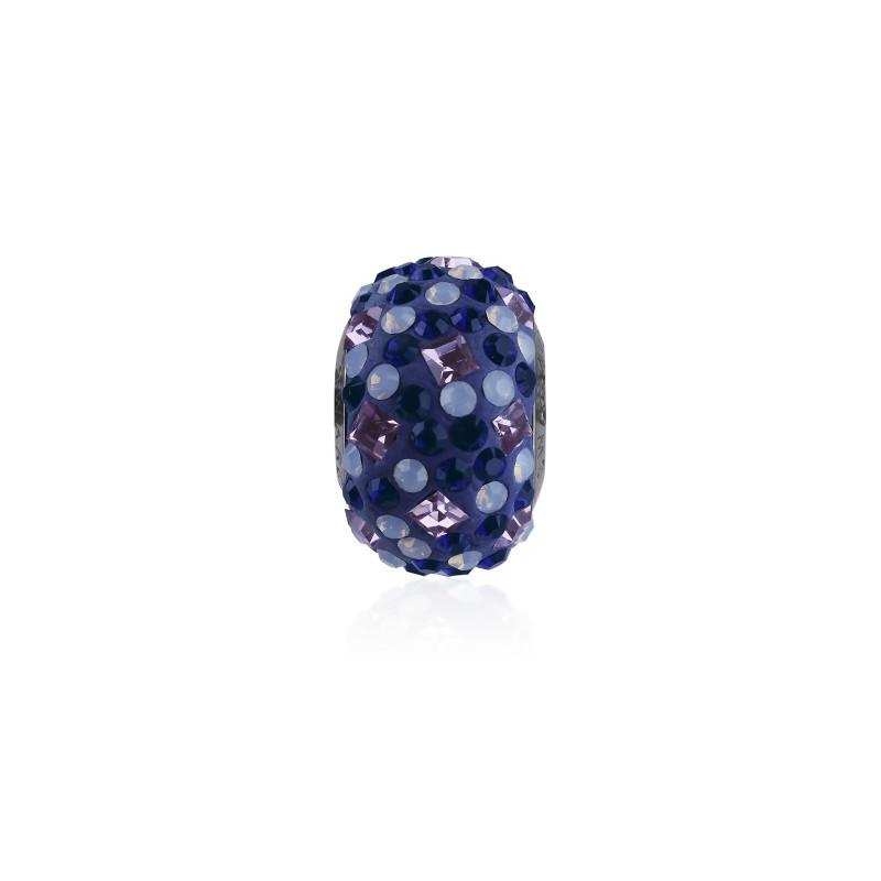 14mm Light Amethyst (212) 81403 Crystal BeCharmed Pavé Medley Bead Swarovski Elements