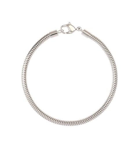 180mm BeCharmed Bracelet (80 000) Rhodium Plating Swarovski Elements