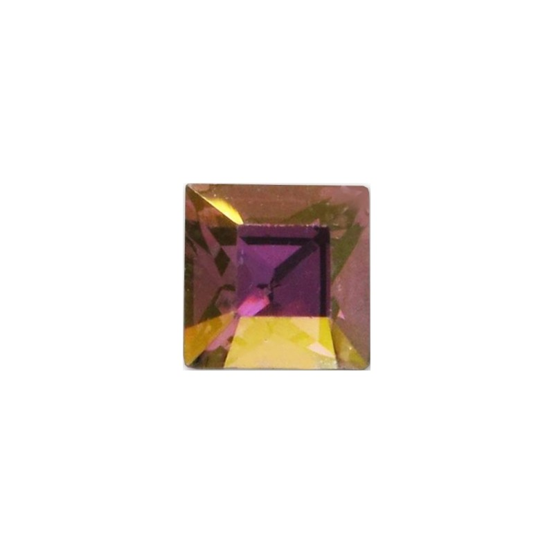 2mm Crystal Lilac Shadow F (001 LISH) Square 4428 Fancy Stone Swarovski Elements