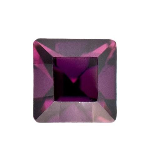 2mm Amethyst F (204) Ruudukujuline 4428 Ehte Kristall Swarovski Elements