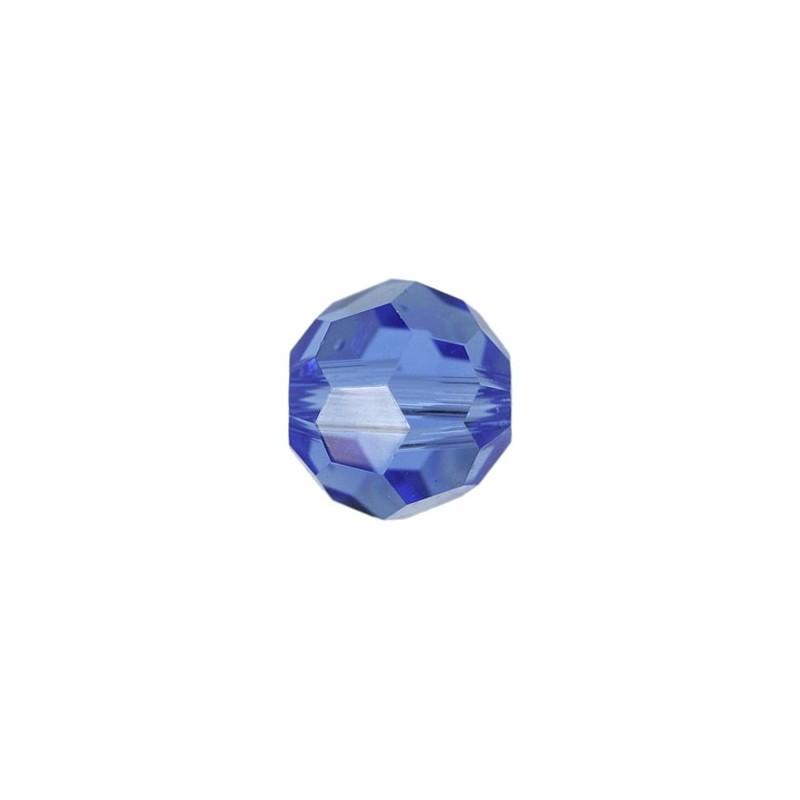 10MM Sapphire (206) 5000 Round Bead SWAROVSKI ELEMENTS