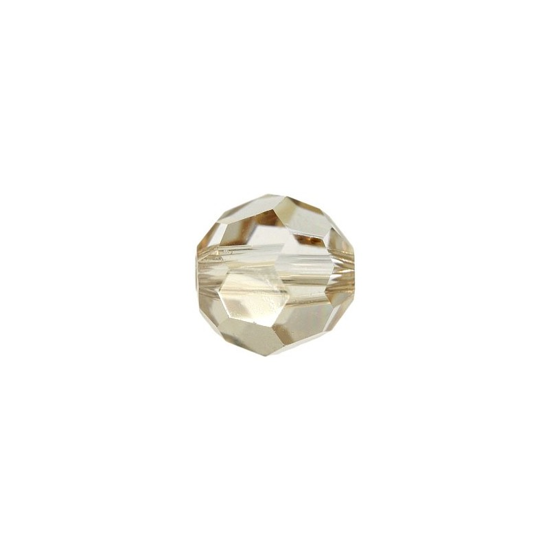 8MM Crystal Golden Shadow (001 GSHA) 5000 Round Bead SWAROVSKI ELEMENTS