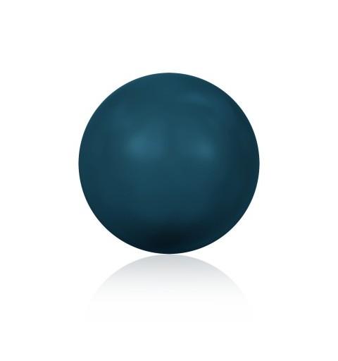 3MM Petrol Kristall Ümmargune Pärl (001 600) 5810 SWAROVSKI ELEMENTS