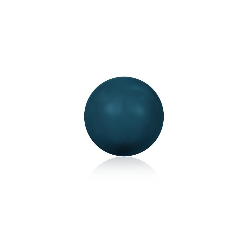 8MM Petrol Kristall Ümmargune Pärl (001 600) 5810 SWAROVSKI ELEMENTS