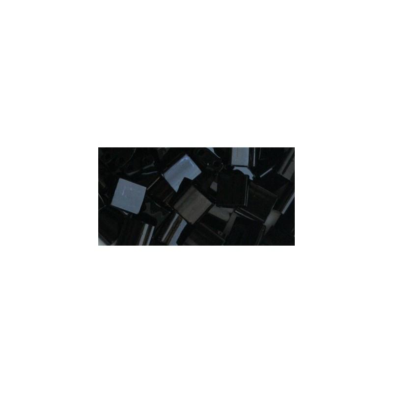 MT-401 Opaque Black Miyuki Tila SEED BEADS