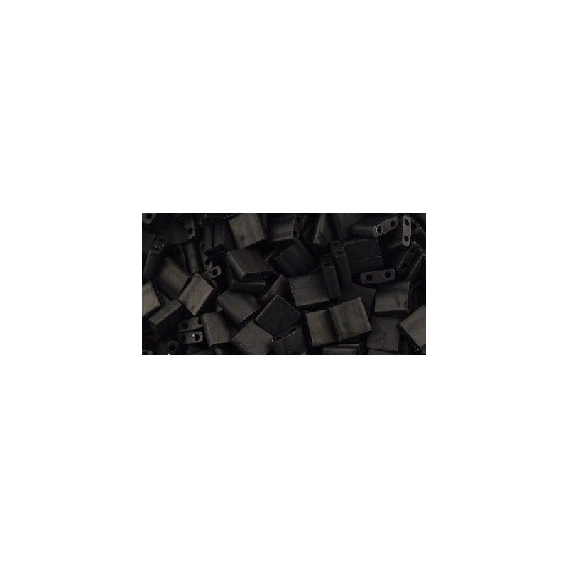 MT-401F Opaque Matte Black Miyuki Tila SEED BEADS