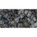 MT-2002 Matte Metallic Silver Grey Miyuki Tila SEED BEADS