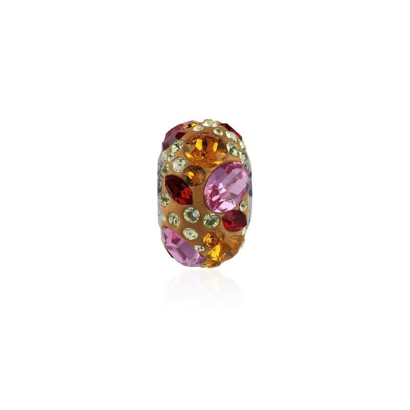 14mm Rose (209) 81304 BeCharmed Pavé Medley Bead Swarovski Elements