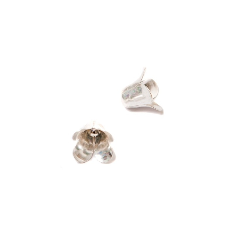 Bead Cup 12mm KP00S silver plated