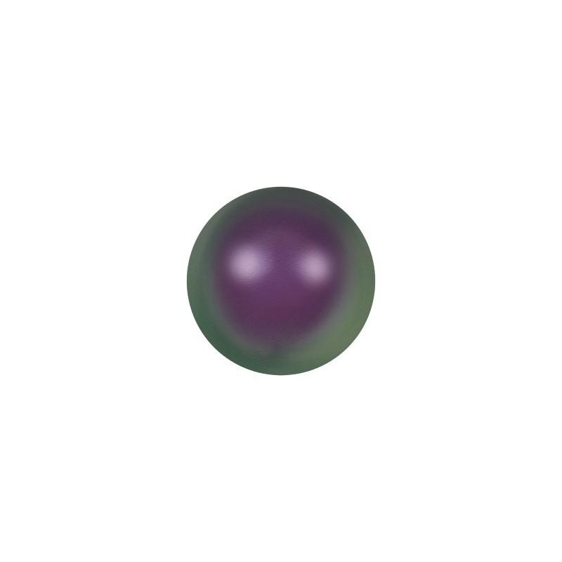 10MM Crystal Iridescent Purple Pearl (001 943) Large Hole 5811 SWAROVSKI ELEMENTS