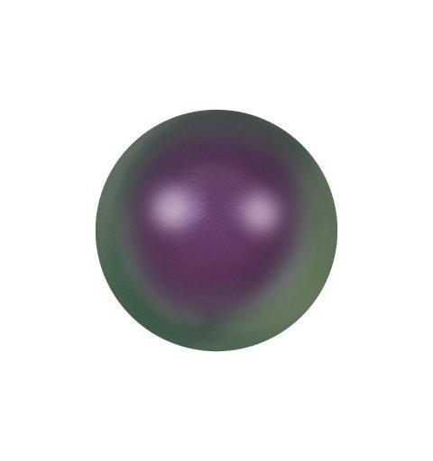 12MM Crystal Iridescent Purple Pearl (001 943) Large Hole 5811 SWAROVSKI ELEMENTS
