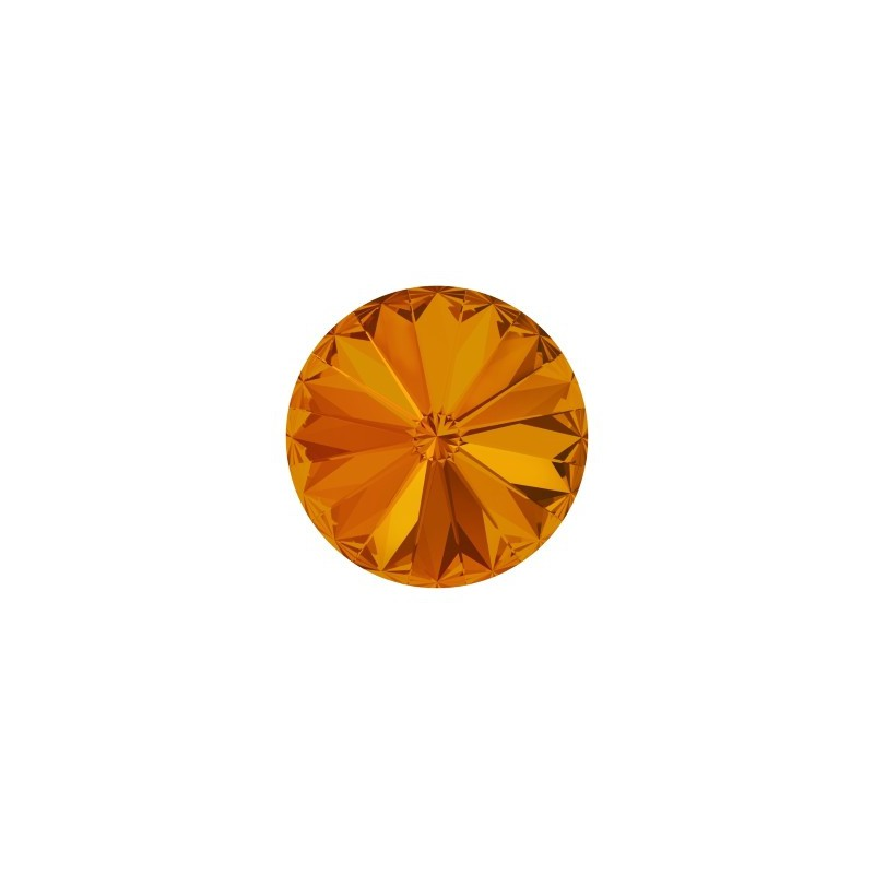 12MM Tangerine F (259) 1122 Rivoli Chaton SWAROVSKI ELEMENTS