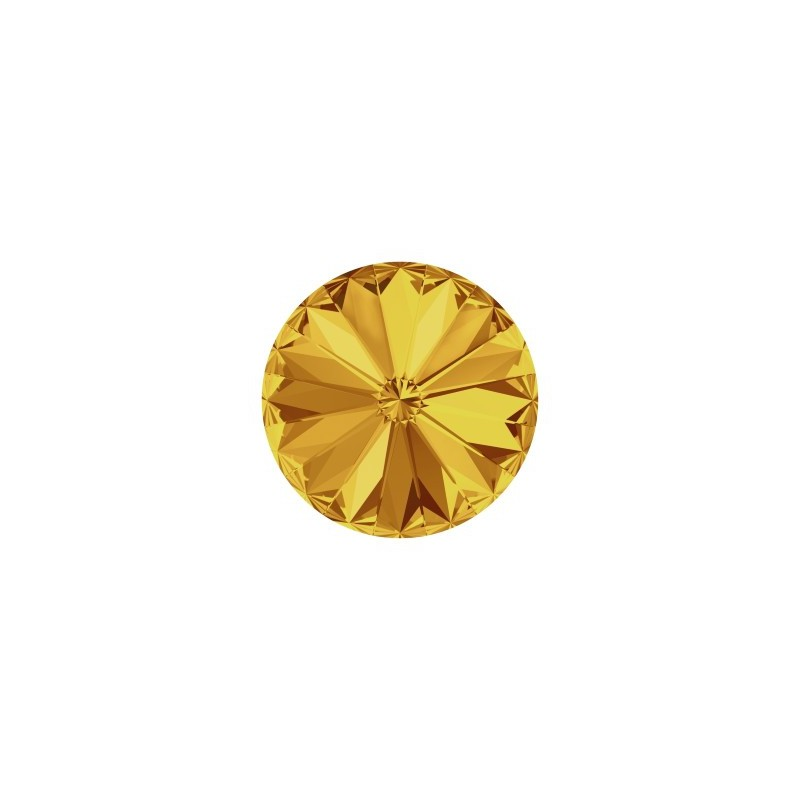 14MM Sunflower F (292) 1122 Rivoli Chaton SWAROVSKI ELEMENTS