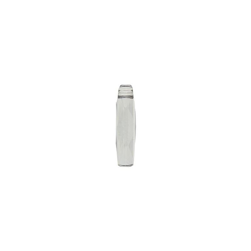 20MM Crystal Silver Shade (001 SSHA) Column Ripats 6460 SWAROVSKI ELEMENTS