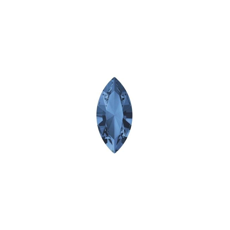 15x7mm Montana F (207) XILION Navette Ehete Kristall 4228 Swarovski Elements