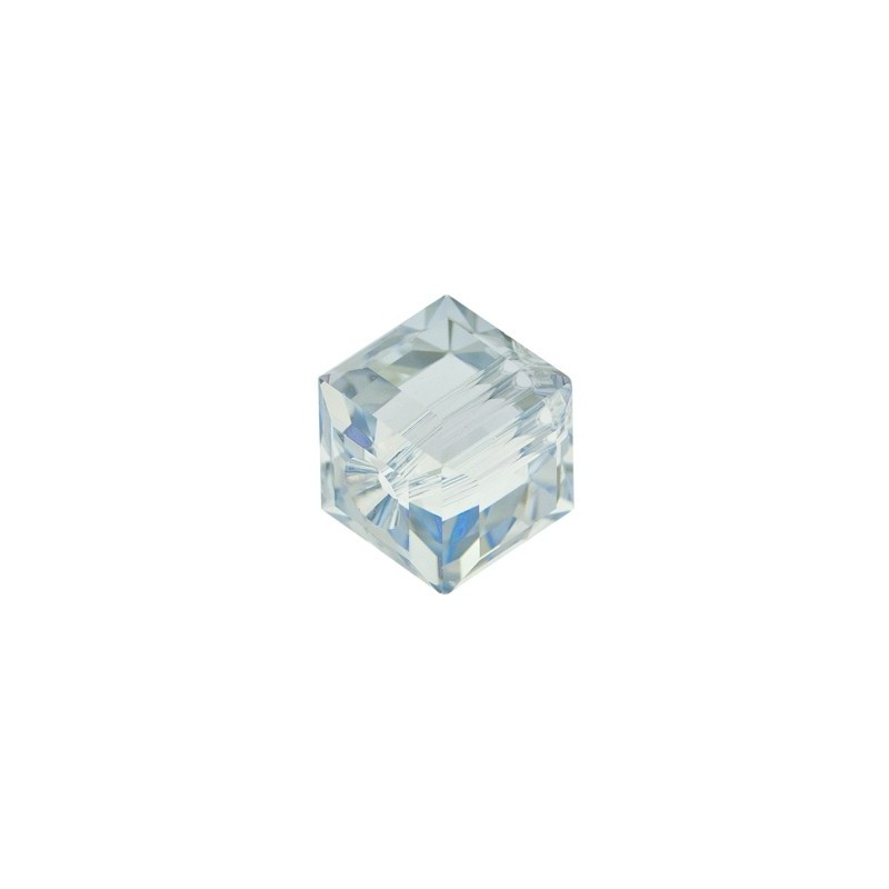 6MM Crystal Blue Shade 'B' (001 BLSB) 5601 Cube Bead SWAROVSKI ELEMENTS