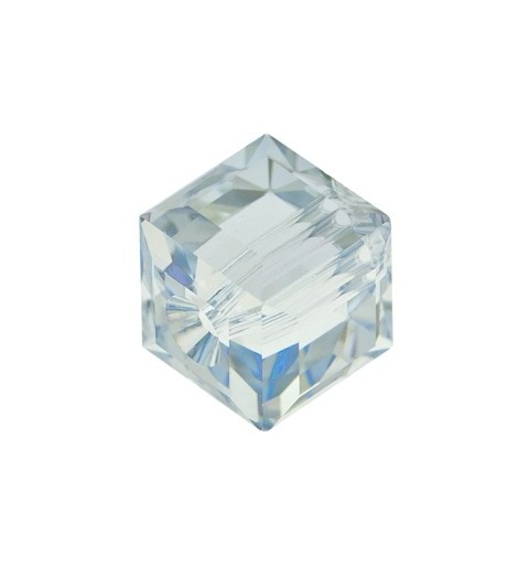 8MM Crystal Blue Shade 'B' (001 BLSB) 5601 Cube Bead SWAROVSKI ELEMENTS