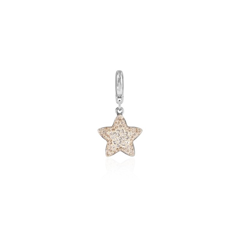 14mm BeCharmed Pavé Star Charm 86512 Silk (391) Swarovski Elements