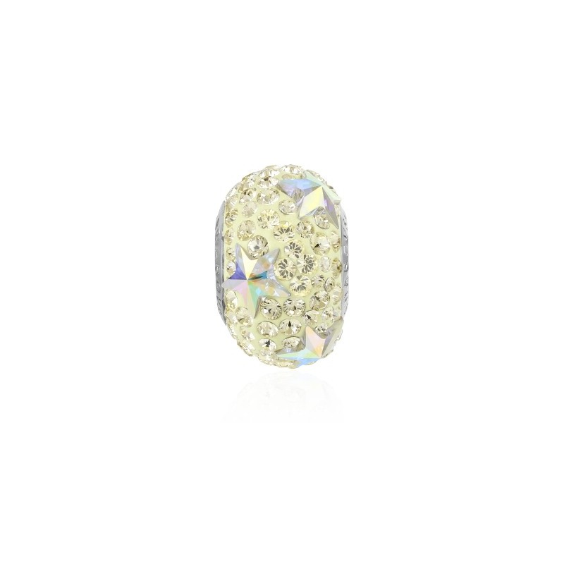 15mm BeCharmed Pavé Star 81712 Jonquil (213) Bead Swarovski Elements